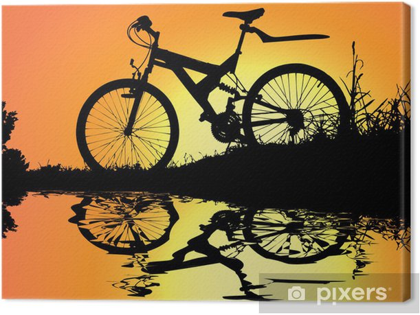 sunset near water Canvas Print - On the Road