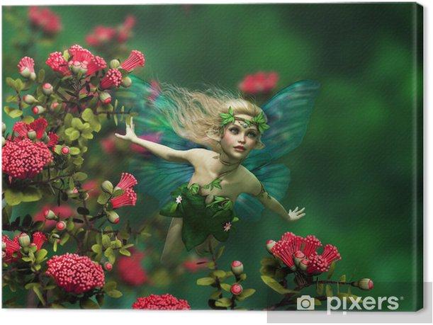 Sunshine Flyer 3d CG Canvas Print -