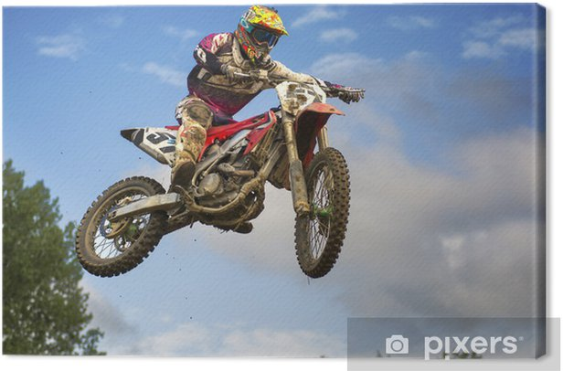 Supercross Canvas Print - Entertainment
