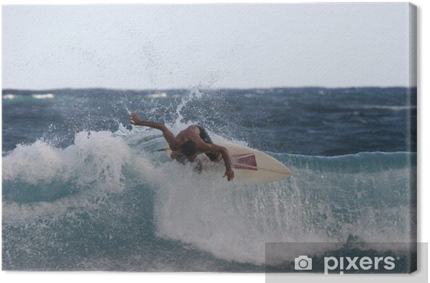 surfeur 2 Canvas Print - Water Sports