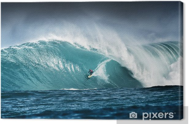 Surfing Canvas Print - Themes