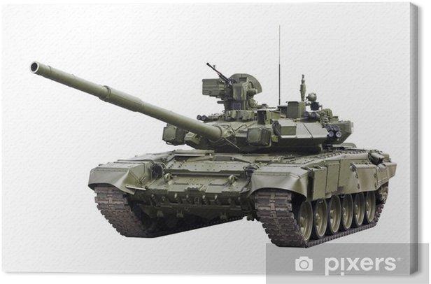 T-90S Main Battle Tank Canvas Print - Themes
