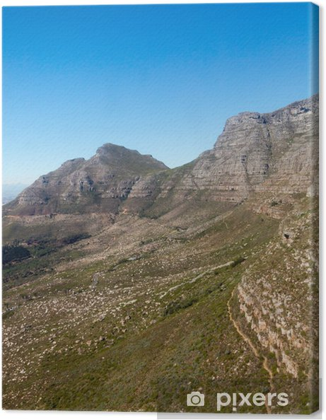 Table Mountain Cape Town South Africa Canvas Print - Africa