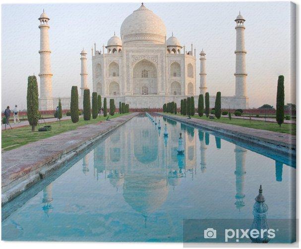 Taj Mahal in Agra, India Canvas Print - Asia