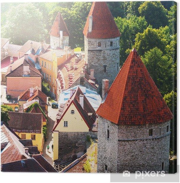 Tallinn Canvas Print - Europe