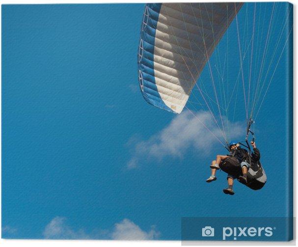 Tandem paragliding Canvas Print - Extreme Sports
