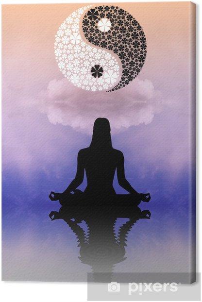 Tao Symbol Canvas Print - Religion