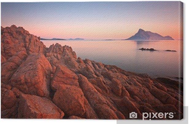 Tavolara island, Sardinia, Italy. Canvas Print - Islands