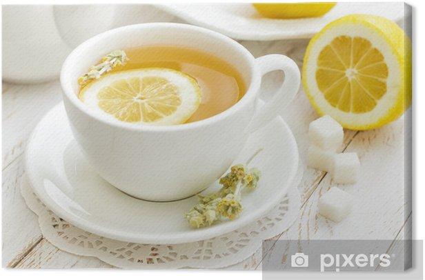 Tea Canvas Print - Destinations