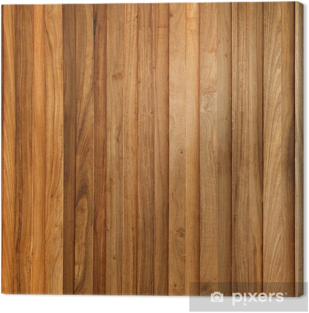 Teak Wood Plank Texture With Natural