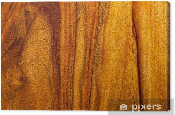 Teak Wood Texture Canvas Print