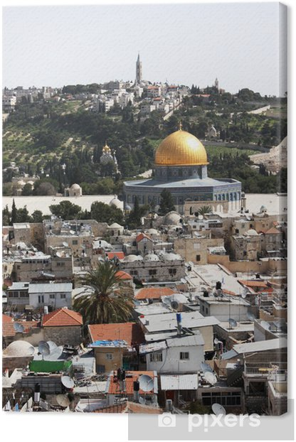 Temple Mount, Jerusalem Canvas Print - The Middle East