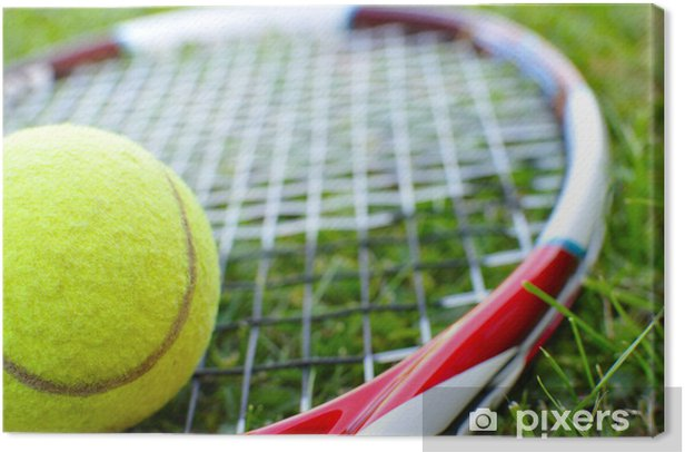 Tennis Canvas Print - Themes