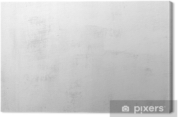 texture of the gray concrete wall Canvas Print - Themes