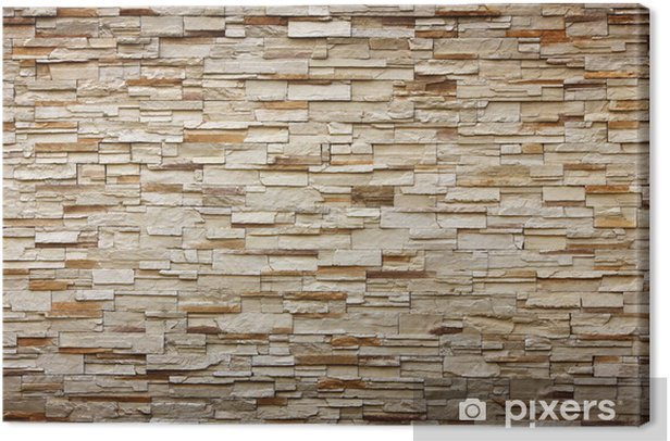 texture of the stone wall for background Canvas Print - iStaging