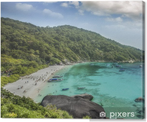 Thailand ocean Canvas Print - Asia
