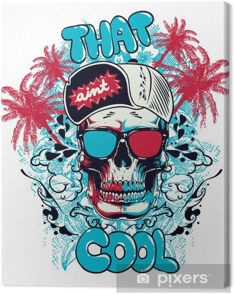 That aint cool Canvas Print - Wall decals