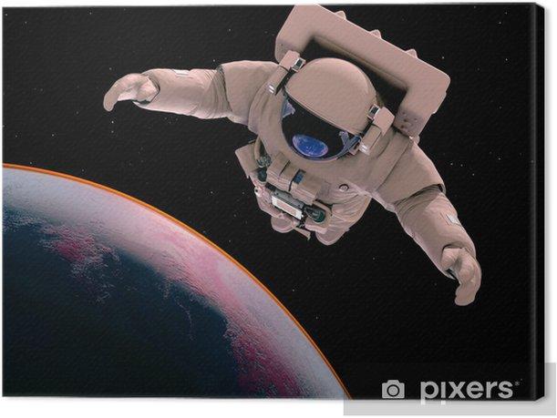 The astronaut Canvas Print - Themes