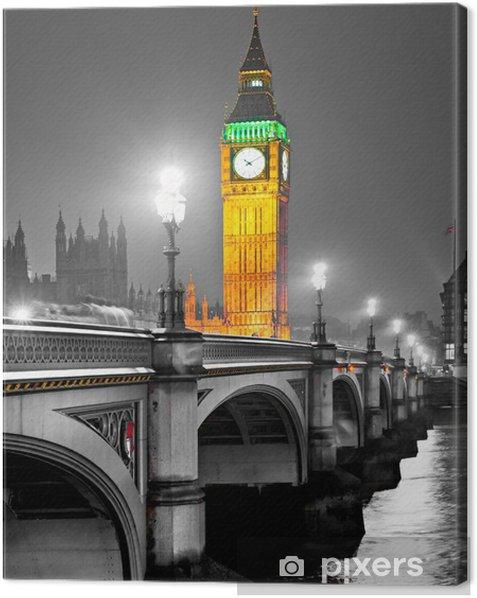 The Big Ben, London, UK Canvas Print -