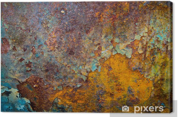 The core of corrosion Canvas Print - Styles