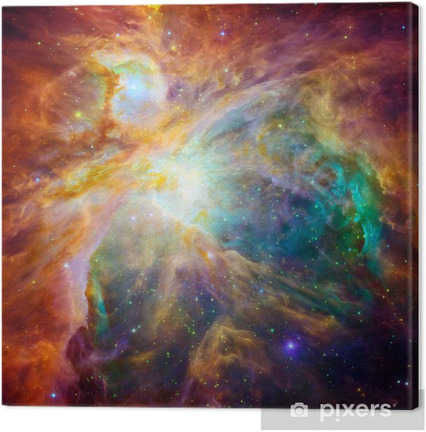 The cosmic cloud called Orion Nebula Canvas Print - Universe