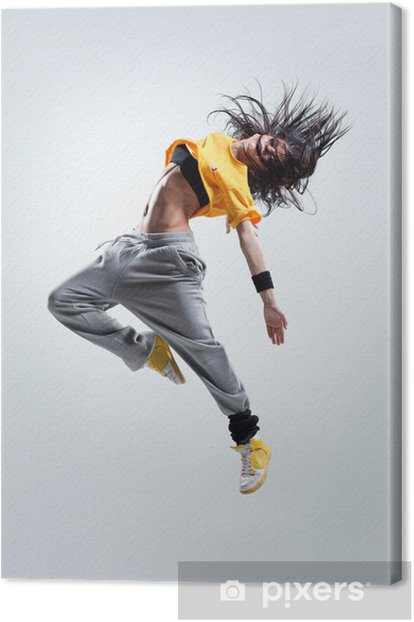the dancer Canvas Print -