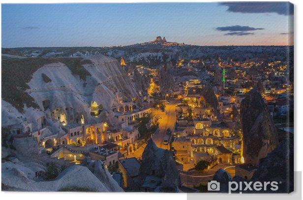 The landscape of Cappadocia , Turkey Canvas Print - Europe