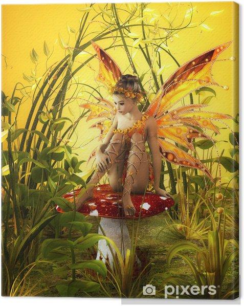 The Magical Fall Canvas Print -