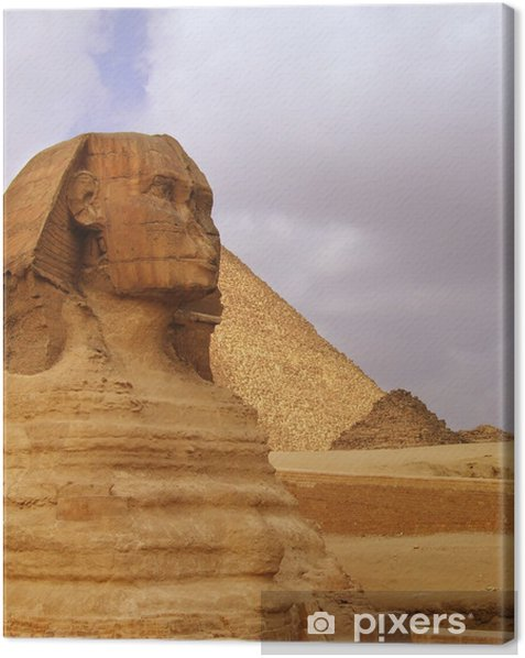 The Sphinx of Egypt 02 Canvas Print - Africa