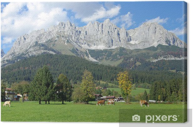 Tirol - Wilder Kaiser Canvas Print - Themes