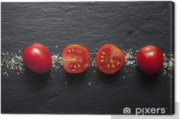 Tomate Cerise Canvas Print - Themes
