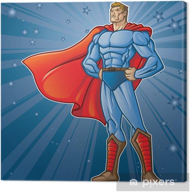 Toon Hero Canvas Print - Themes