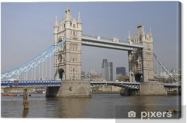 Tower Bridge and the City of London Canvas Print - Themes