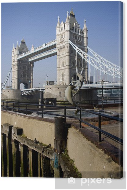 Tower Bridge en Londres, Reino Unido Canvas Print - European Cities