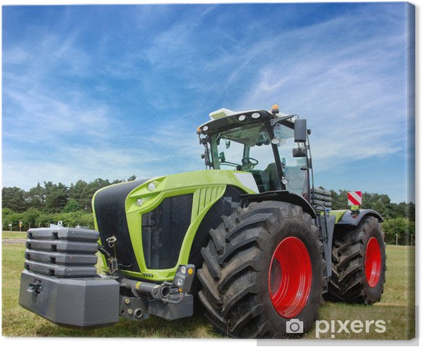 Tractor Canvas Print - Themes