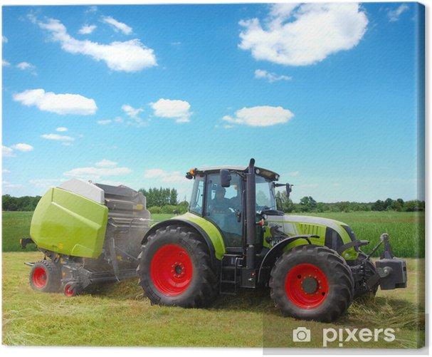 traktor Canvas Print - Themes