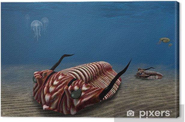 Trilobite Canvas Print - Aquatic and Marine Life