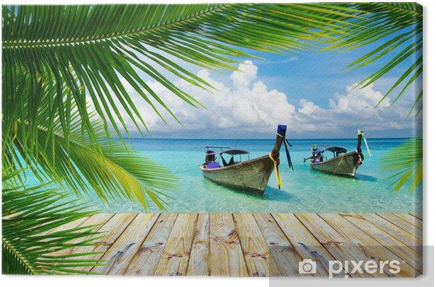 tropical sea Canvas Print - Themes