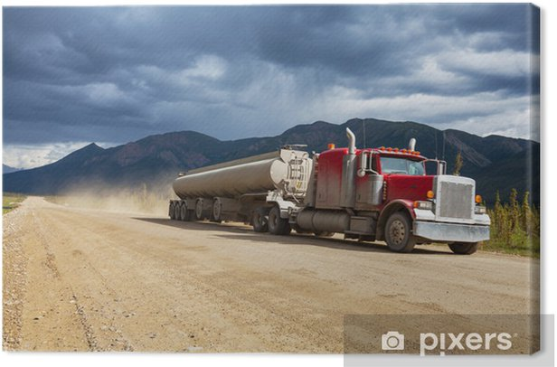 Truck Canvas Print - Heavy Industry