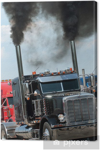 Trucking Canvas Print - On the Road
