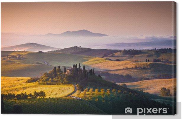 Tuscany panorama Canvas Print - Themes