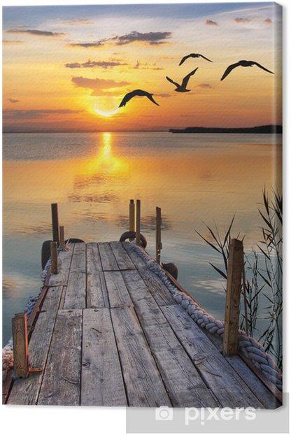un rincón para soñar Canvas Print -