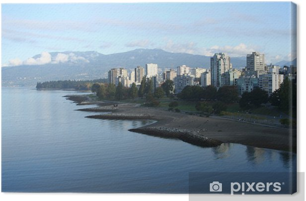 vancouver condominiums Canvas Print - Other