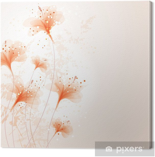 vector background with flowes Canvas Print - National Events