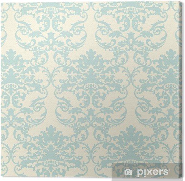 Vector Floral Damask Baroque Ornament Pattern Element Elegant