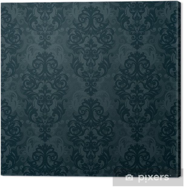 Vector seamless pattern in Victorian style. Canvas Print - Styles