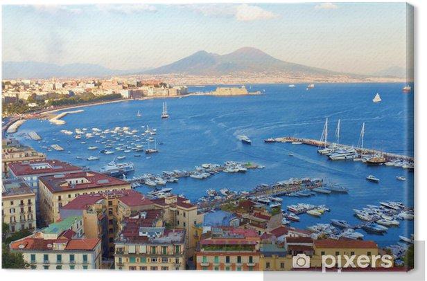 Veduta del Golfo di Napoli Canvas Print - iStaging