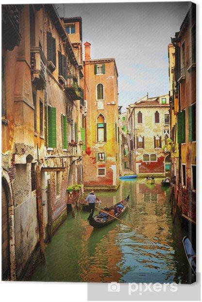 Venice. Canvas Print -