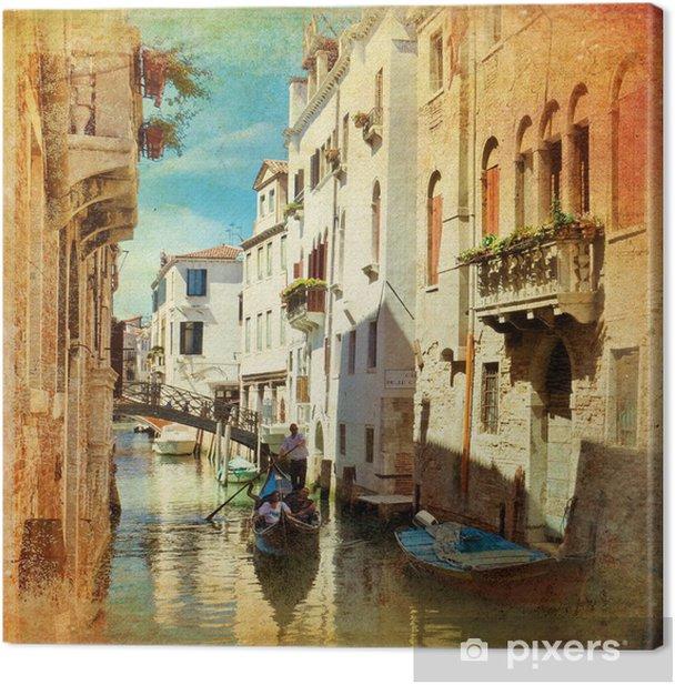Venice Canvas Print - Styles