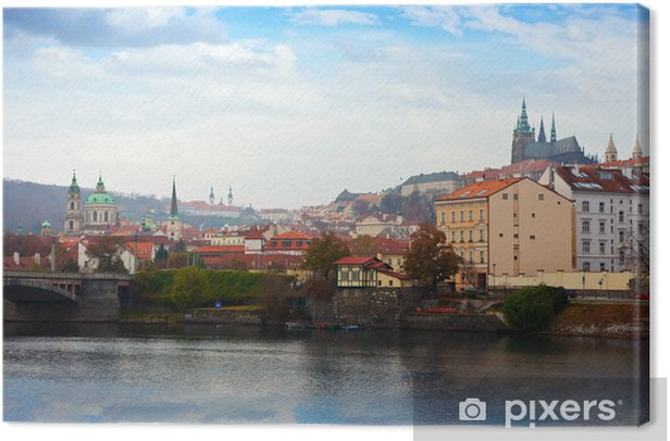 view of Prague Canvas Print - Europe